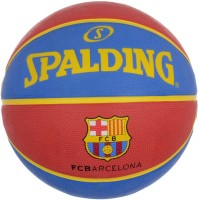 Spalding Euro Barcelona Basketball -   Size: 7,  Diameter: 30 Cm (Pack Of 1, Red, Blue)
