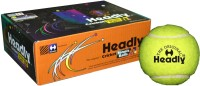 Headly Cricket Tennis Ball Heavy Tennis Ball (Pack Of 6, Yellow)