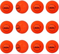 AVM Windball-18 Cricket Ball -   Size: Standard,  Diameter: 6.5 Cm (Pack Of 12, Red)