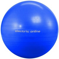 Eo Electric Online Anti Burst Gym Ball -   Size: 75,  Diameter: 75 Cm (Pack Of 1, Blue)