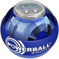 Nsd Powerball Power Ball 250Hz Blue With Counter Gym Ball (Pack Of 1, Blue)