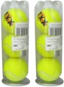 Head XXX Tennis Balls Tennis Ball -   Size: 7,  Diameter: 6.7 Cm - Pack Of 6, Yellow