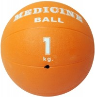 Physique 1 Kg Medicine Ball -   Size: 1,  Diameter: 30 Cm (Pack Of 1, Orange)