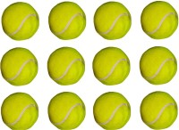 VSM Gold Star Super Tennis Ball -   Size: 3,  Diameter: 2.5 Cm (Pack Of 12, Yellow)