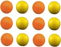 Vani Sports Ping Pong Dhamkaa Rubber Ball -   Size: 2,  Diameter: 2.5 Cm (Pack Of 12, Multicolor)