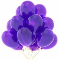 PartyballoonsHK Solid Metallic Purple (Pack Of 50) Balloon (Purple, Pack Of 50)