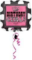 Anagram Rocker Princess Birthday Printed Balloon (Multicolor, Pack Of 1)
