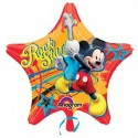 Anagram Mickey Rock Star Printed Balloon - Multicolor, Pack Of 1