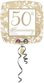 Anagram Gold Elegant 50th Anniversary