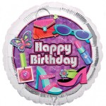 Anagram Happy Birthday Glitzy