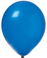Abee Solid B 17 Balloon (Blue, Pack Of 70)