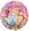 Fusion Balloons Princess Birthday (28 Inch) Printed Balloon - Multicolor, Pack Of 1