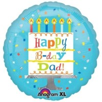 Anagram Happy Birthday Printed Balloon (Multicolor, Pack Of 1)