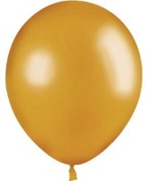 Fusion Balloons Solid Balloon (Gold, Pack Of 1)