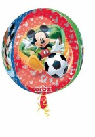 Anagram Micky Mouse Orbz Printed Balloon (Multicolor, Pack Of 1)