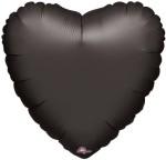 """Anagram Black Heart 18"""""""