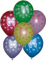 Tiger Butterfly Printed Balloon (Multicolor, Pack Of 50)