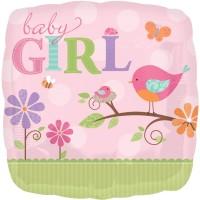 Anagram Tweety Baby Girl Printed Balloon (Multicolor, Pack Of 1)