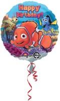 Anagram Happy Birthday Nemo & Friend Printed Balloon (Multicolor, Pack Of 1)