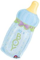 Anagram Boy Baby Bottle Printed Balloon (Multicolor, Pack Of 1)