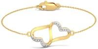 BlueStone The Anchored Love Yellow Gold 18kt Diamond Bracelet - BBAEB73N2YKFJVDP
