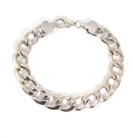 Ammvi Creations Elegant Links 316L Electro Polished For Men Stainless Steel Bracelet