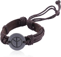 Jewelizer Faux Leather Bracelet