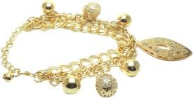 FashBlush Alloy Charm Bracelet