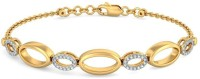 BlueStone The Oval Melody Yellow Gold 14kt Diamond Bracelet