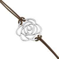 925 Silver Floral Designer Rakhi Silver Silver Plated Bracelet - BBAE7RY4VG5FY7RQ
