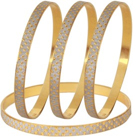 Dilan Jewels Alloy 21K Yellow Gold Bangle