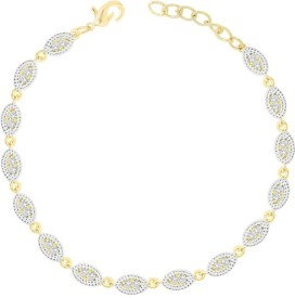 simaya Alloy Yellow Gold Bracelet