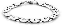D&D Euphoric Alloy Silver Plated Bracelet