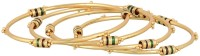 Prita Gold Plated Alloy Bangle Set Pack Of 4