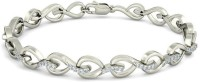 BlueStone The Leaf Lace White Gold 18kt Diamond Bracelet