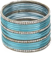 Trove Ethnic Metal Bangle Set Pack Of 16 - BBAE7VKYDS2ZHBZC