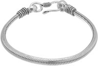 D&D Oxidized Silver Tone Metal Alloy Silver Plated Bracelet
