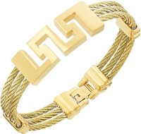 The Jewelbox Stainless Steel Yellow Gold Bracelet - BBAECM4AZHAGZC89