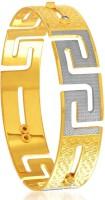 Sukkhi Fashionable Dancing Stone Alloy 18K Yellow Gold, Rhodium Plated Bangle