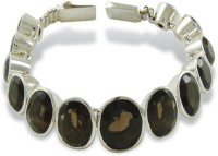 Miska Silver Beautiful Silver Quartz Silver Plated Bracelet