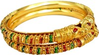 Surat Diamond Metal Bangle (Pack Of 2)