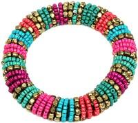 Joyeria Milan Multicolor Beaded Alloy Beads Bracelet