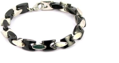 Wise Pebbles Stainless Steel Bracelet