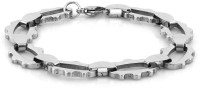 Voylla Artifictial Classic Plain Alloy Silver Plated Bracelet