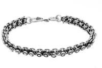 D&D Amazing Design Alloy Silver Plated Bracelet
