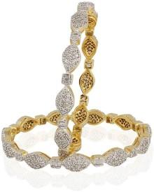 Heena Jewellery Alloy, Brass Bangle Set - Pack Of 2