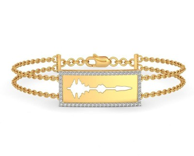 BlueStone The Sparkle Of Love Yellow Gold 14kt Diamond Bracelet