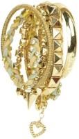 The Pari Brass Bracelet Set (Pack Of 7)