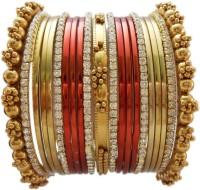 My Design Bridal Alloy Brass Bangle Set Pack Of 21