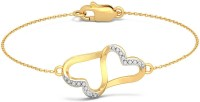 BlueStone The Anchored Love Yellow Gold 18kt Diamond Bracelet